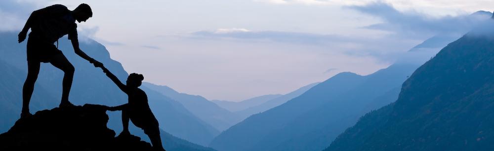 Mountain couple