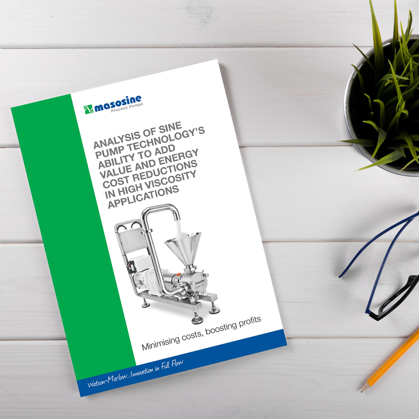 Watson-Marlow Fluid Technology Group - MasoSine sinusoidal pump brochure