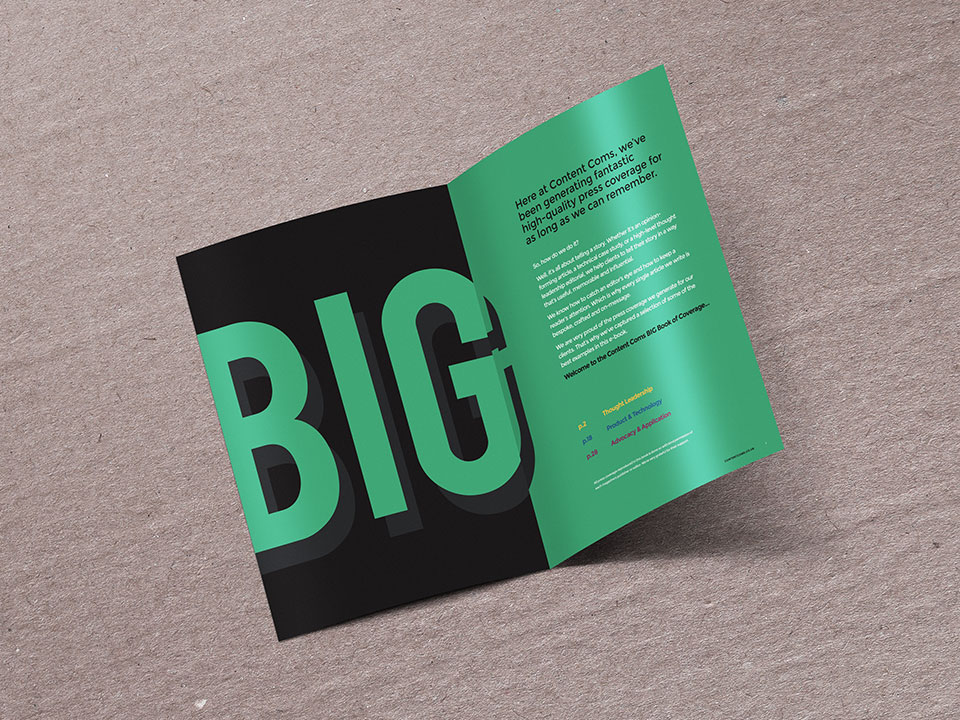 Content Coms - Big Book of Coverage