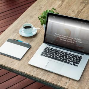 Work in Mind Laptop Mockup
