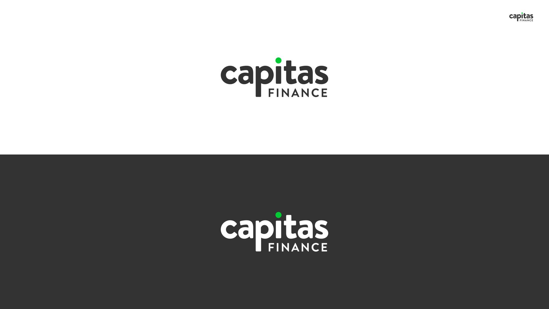 Capitas Finance Brand Presentation - The Logo