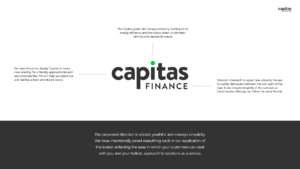 Capitas Finance Brand Presentation - Design Choices