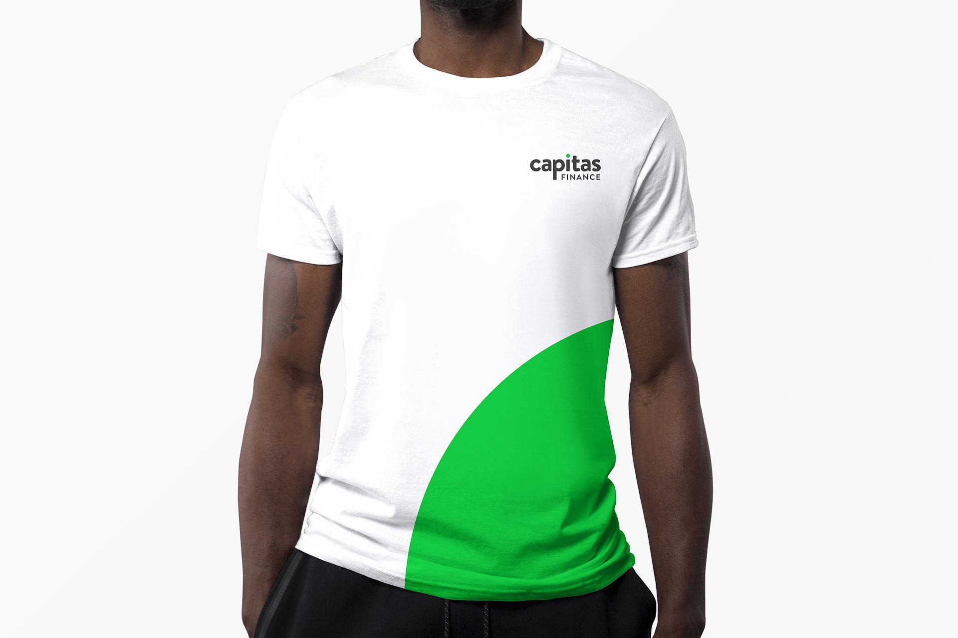 Capitas Finance - Branded T-Shirt Design