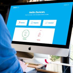 ARGOHub Dashboard GUI Design