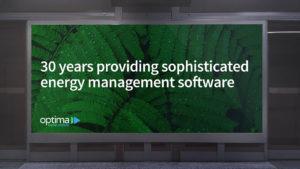 Landscape underground advert design for software data management company